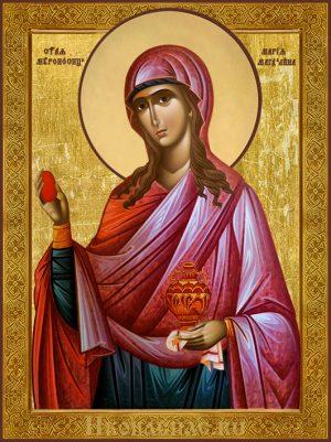 Икона Мария Магдалина святая мироносица