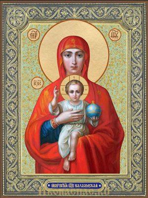 Валаамская Божией Матери