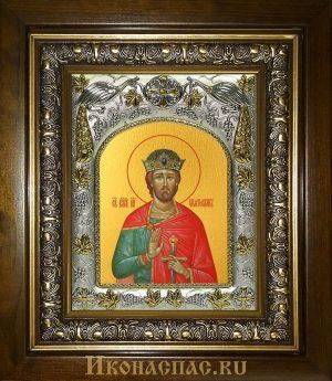 купить икону Святослав Владимирский святой князь в киоте