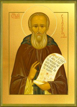купить икону святого Саввы Сторожевского