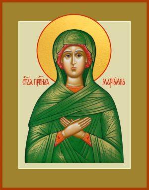 купить икону святой Мариамны Праведной