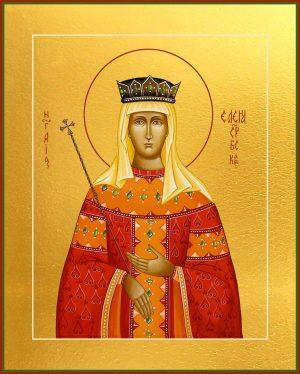 купить икону святой Елены Сербской великой Княгини