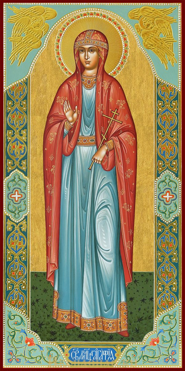 купить мерную икону святой Агафии Палермской