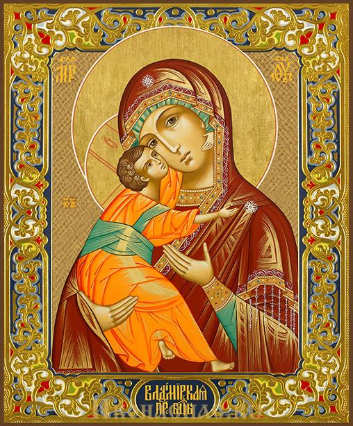 купить икону Владимирской Божией Матери