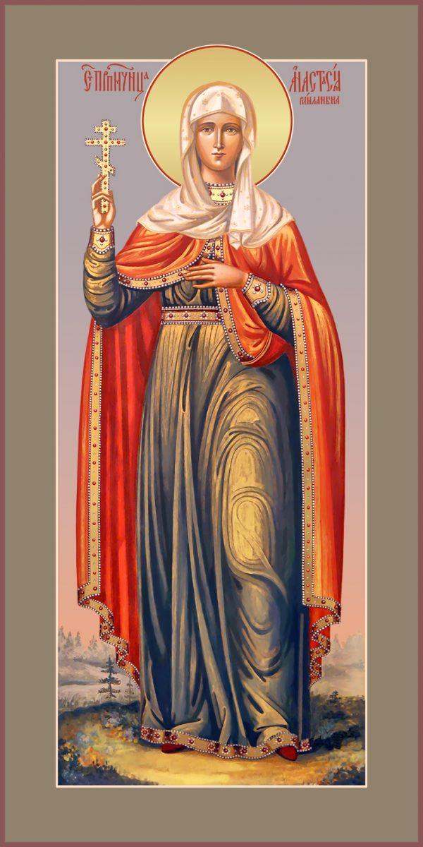 купить мерную икону святой Анастасии Римской