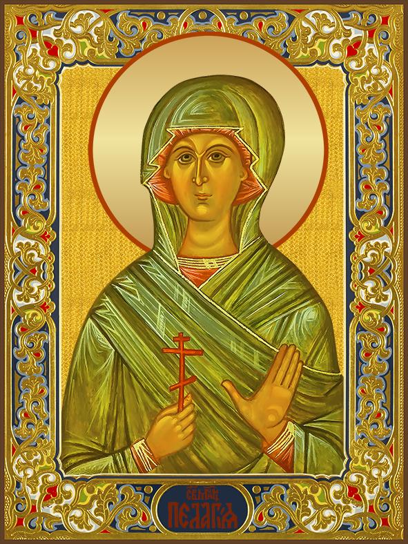 купить икону святой Пелагеи Тарсийской