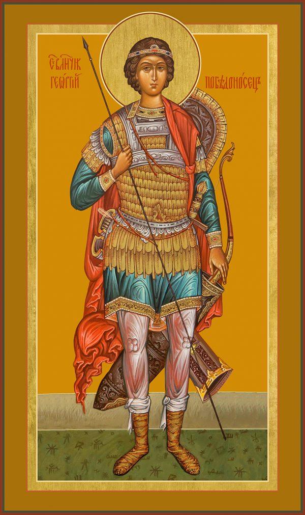 купить мерную икону икону святого Георгия Победоносца