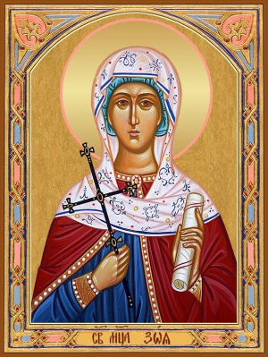 купить икону святой Зои Римской
