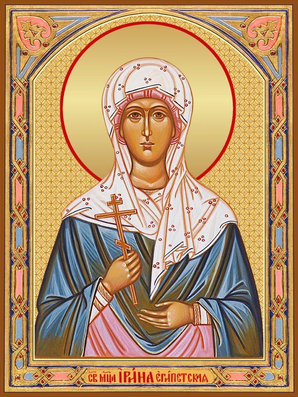 купить икону святая Ирина Египетская