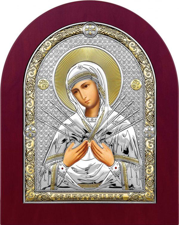 купить икону Семистрельная Божья Матерь