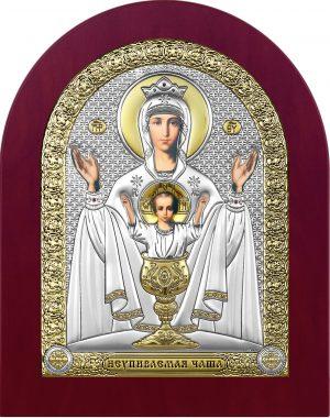 купить икону Неупиваемая чаша Божья Матерь