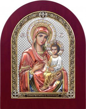 купить икону Скоропослушница Божья Матерь