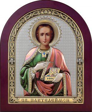 купить икону святой Пантелеймон великомученик и целитель