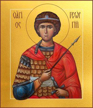 купить икону святого Георгия Победоносца