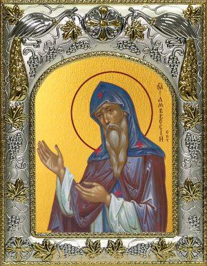 Икона Амвросий Оптинский преподобный