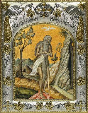 купить икону Онуфрий Великий