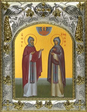 купить икону святые Петр и Феврония Муромские