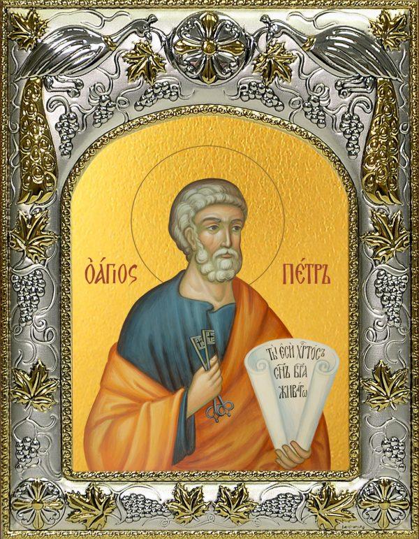 купить икону святой Петр апостол
