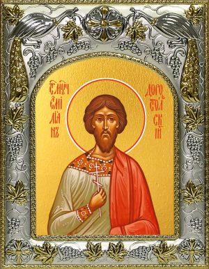 купить икону святой Емилиан Доростольский