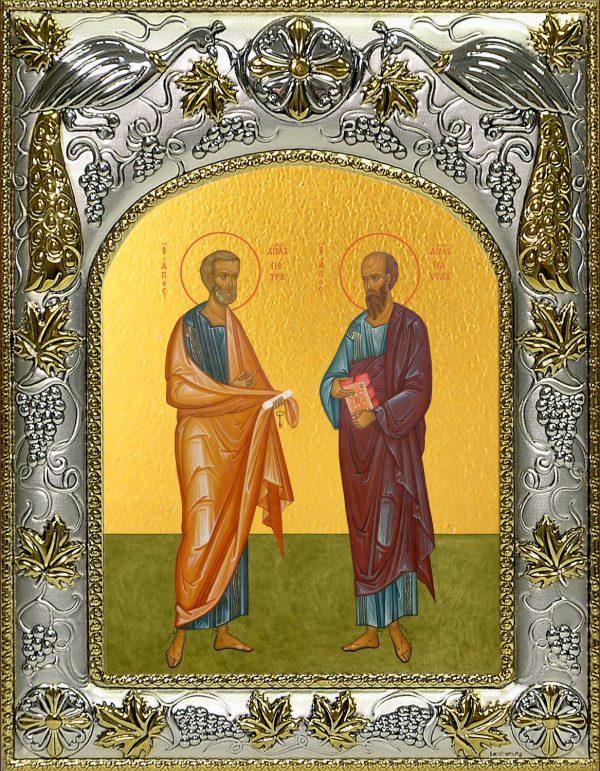 купить икону святые Петр и Павел апостолы