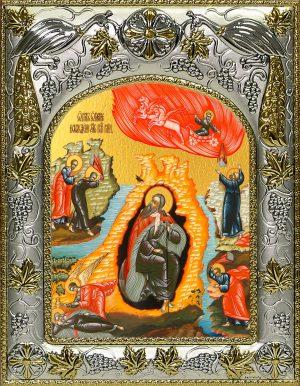купить икону Огненное Восхождение Илии пророк