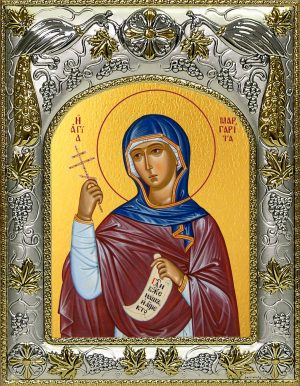 купить икону святая Маргарита Антиохийская
