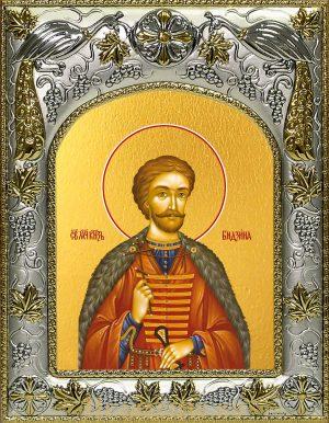 Икона Бидзина мученик, князь Ксанский