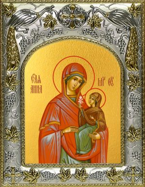 купить икону святая Анна, мать Пресвятой Богородицы