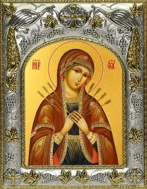 купить икону Божьей Матери Семистрельная