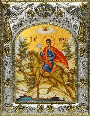 купить икону святой Трифон мученик