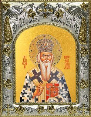 купить икону святой Николай Сербский