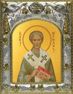 купить икону святой Герман Константинопольский