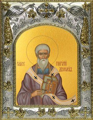 купить икону святой Григорий Двоеслов