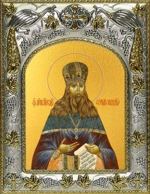 купить икону святой Сергий (Сребрянский) Тверской