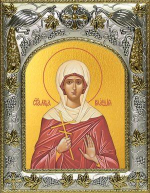 купить икону святая Клавдия Мученица