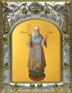 купить икону святой Петр Московский