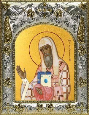 Икона Алексий, митрополит Московский и всея России