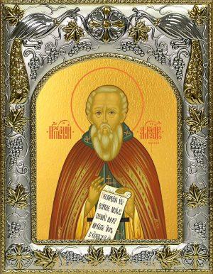 Икона Александр Свирский преподобный