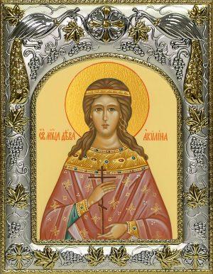 купить икону святая Акилина Младшая мученица