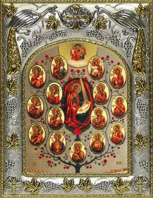 купить Древо Пресвятой Богородицы икону Божией Матери