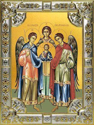 купить икону Михаил, Гавриил и Рафаил Архангелы