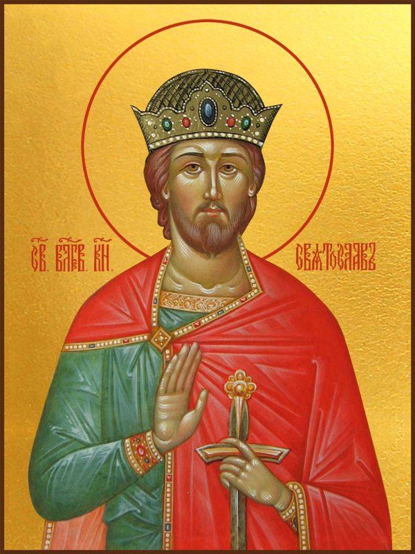 купить икону святой Святослав Владимирский святой князь