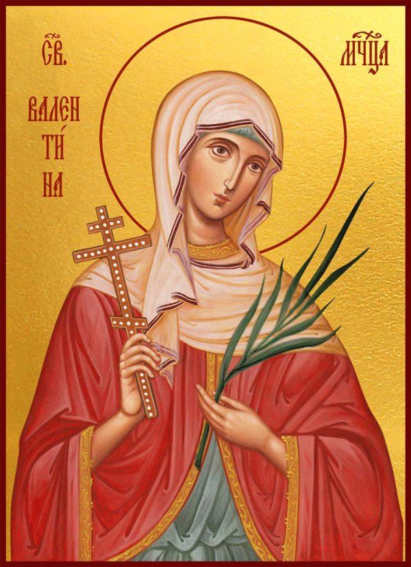 купить икону святая Валентина Кесарийская