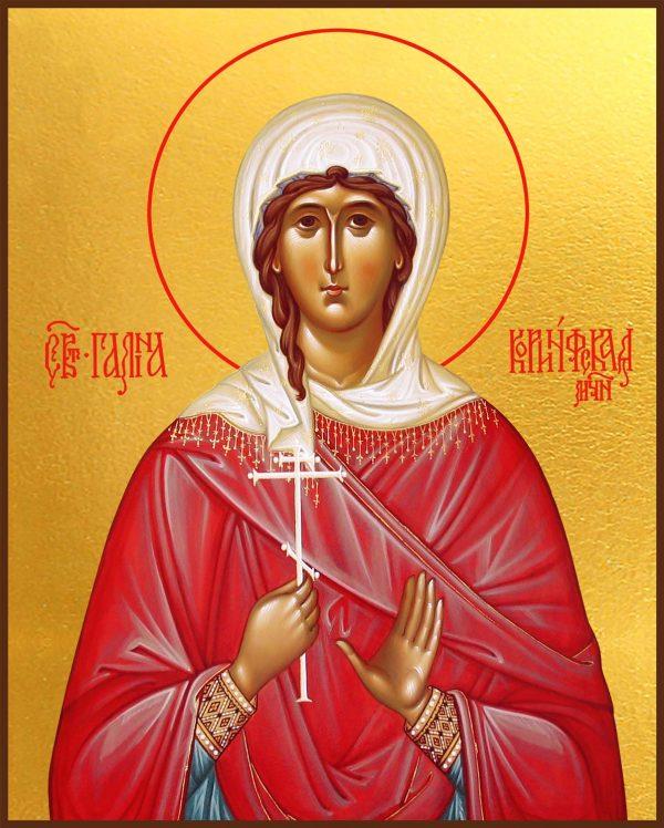 купить икону святая Галина Коринфская