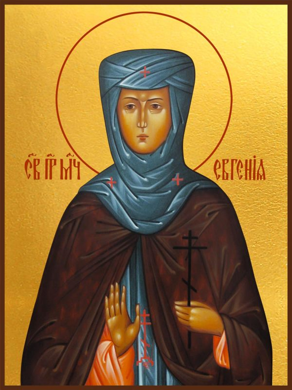 купить икону святая Евгения преподобная