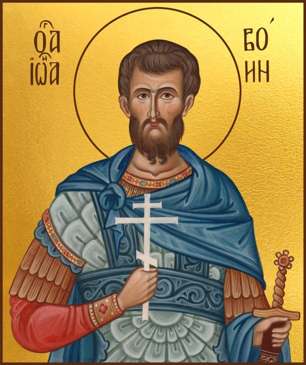купить икону святой Иоанн Воин
