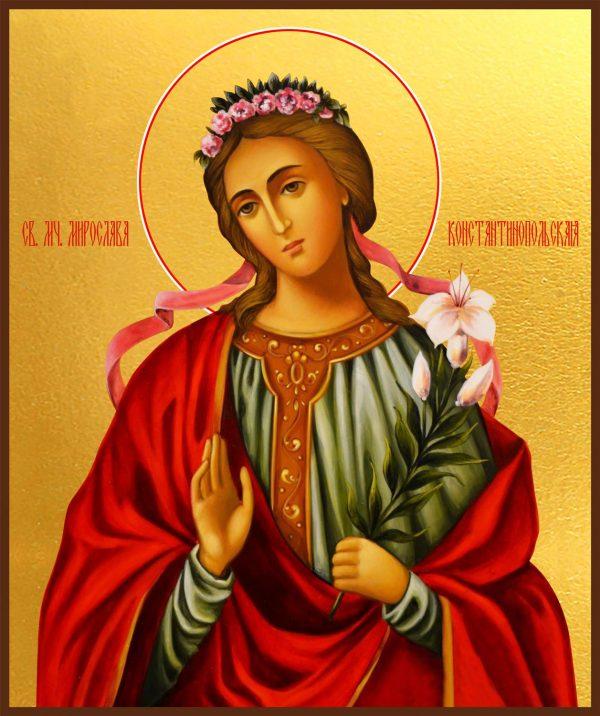 купить икону святая Мирослава Константинопольская