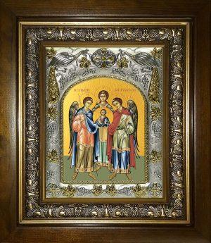 купить икону Архангелы Михаил, Гавриил и Рафаил