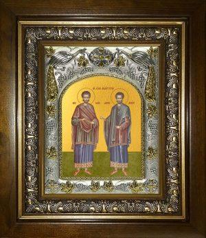 купить икону святые Косма и Дамиан бессребреники