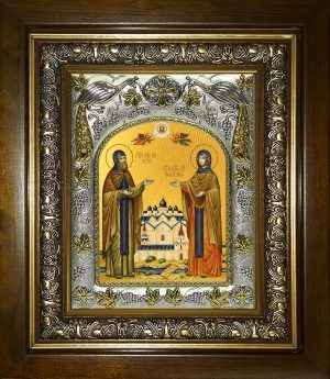 купить икону святых Петра и Февронии